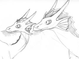 Old draconic prey concept by Dinoboy134