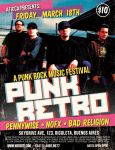 Punk Rockr Retro Poster Flyer by AticcaDesign