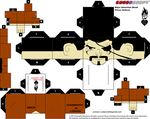 Prisoner Major Bludd Cubee Template by lovefistfury