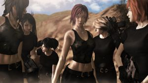 Squad by sculp2