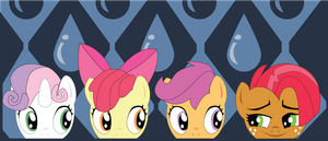 Shadowbox Mock-up:  Babs Seed Babs Seed (6x14) by The-Paper-Pony