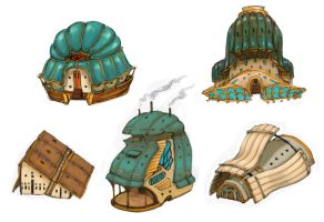 House Concepts by candycanesmoke