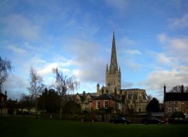 Norwich Cathedral: Photomerge by Jellings