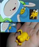 Adventure Time FIMO Jake Comparisons by JWBeyond