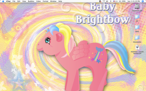 My Desktop as of February 2008 by midori-no-ink