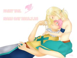 NaLu Day by Sueching123