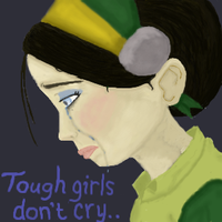 Tough Girls do cry by killerpenguin55