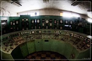 Control desk (the second one) by 0-Photocyte