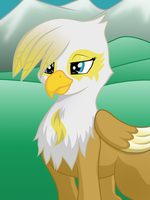 Avelina The Griffon by DJSeras
