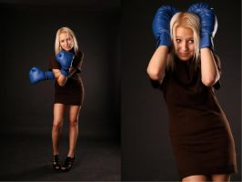 she likes boxing by Petrova-Sonya
