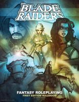 BLADE RAIDERS rulebook cover art by grantgoboom