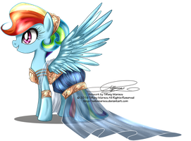 Gala Fashion 2016 - Rainbow Dash by selinmarsou