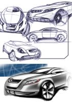just sketch a SUV by vanszhang