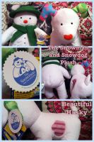 The Snowman And Snowdog UK Build A Bear Plush by BeautifulHusky