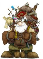 Gadwerant: Gnome of Mindergau by Archaia