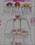 Power Puff Girls meet PedoBear by Lightbluetiger