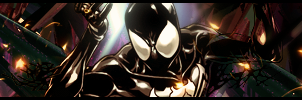 Symbiote Spider Man by Wolfheart66