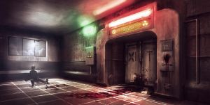 The Holding Cell by jordangrimmer