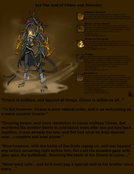 Set God of Chaos by PoisonPineappleBread