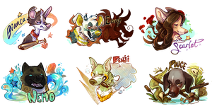 BustBadges by Colonels-Corner