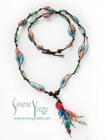 SEA COLORS NECKLACE 2 by simoneyvette