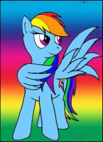 Rainbow Dash by Sricketts14381