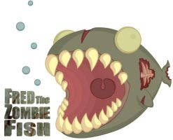 Fred the Finished Zombie Fish by GunnyBoy