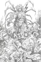 The Darkness pencils by BrianSoriano
