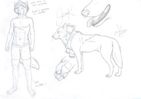 Sketchy Ref Thing by Amicarrow