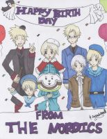 Happy Birthday from the Nordics (and Sealand) by VampireFreakism