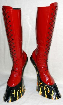 SUCCUBUS BOOTS by HORSEKING