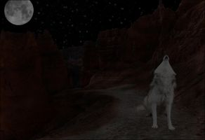 Howling Eclipse by oceancoralgraphics
