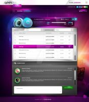 Website player desing by webdesigner1921