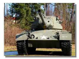 Grafenwoehr Base M47 Tank by WillFactorMedia