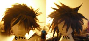 WIP - Sora Wig by oilyraven