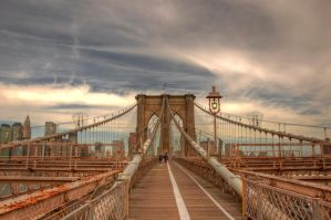 Brooklyn Bridge by Dhaundre