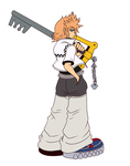 KH2-Roxas by ss2sonic