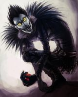 Ryuk .Deathnote. by cheesynoodle