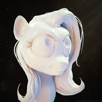 Fluttershy Sculpt by Shastro