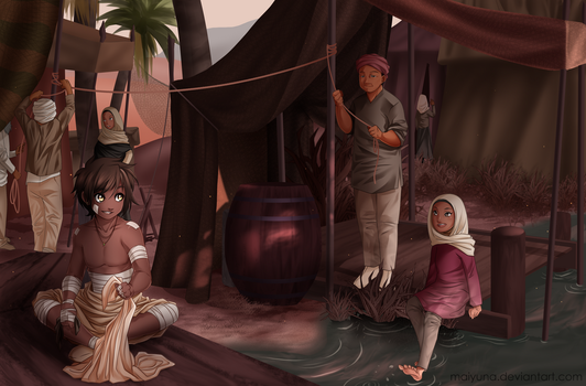 Tales from the Desert by Maiyuna