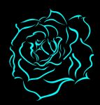 Blue Rose by Trisstam
