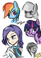 Sketch Dump by MrAsianhappydude
