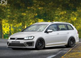 Volkswagen Golf Wagon Swap R by RDJDesign