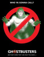 TLIID movie posters - The Spectre in Ghostbusters by Nick-Perks