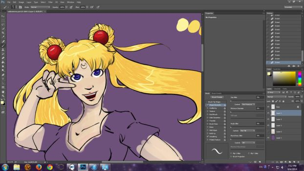 Sailor Moon WIP 02 by Duet