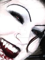 The Laughing Vamp by spookyspinster