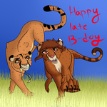 Nala15's Sister Birthday by lolpeaceoutlol