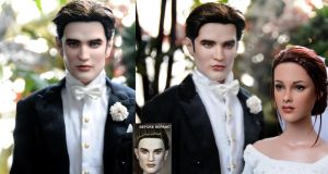 Edward Cullen Breaking Dawn doll by noeling