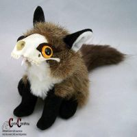 Foxy Le Poof by SkullGrrl