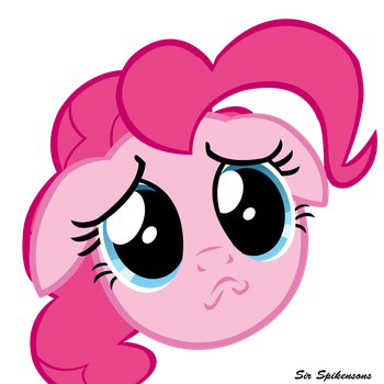 Pinkie pwease :3 by SirSpikensons